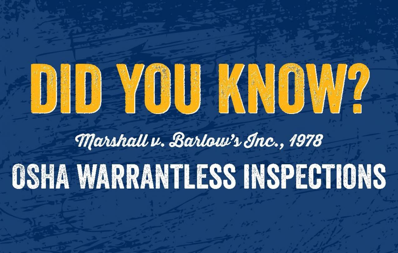 Did you know? Marshall v. Barlows Inc.