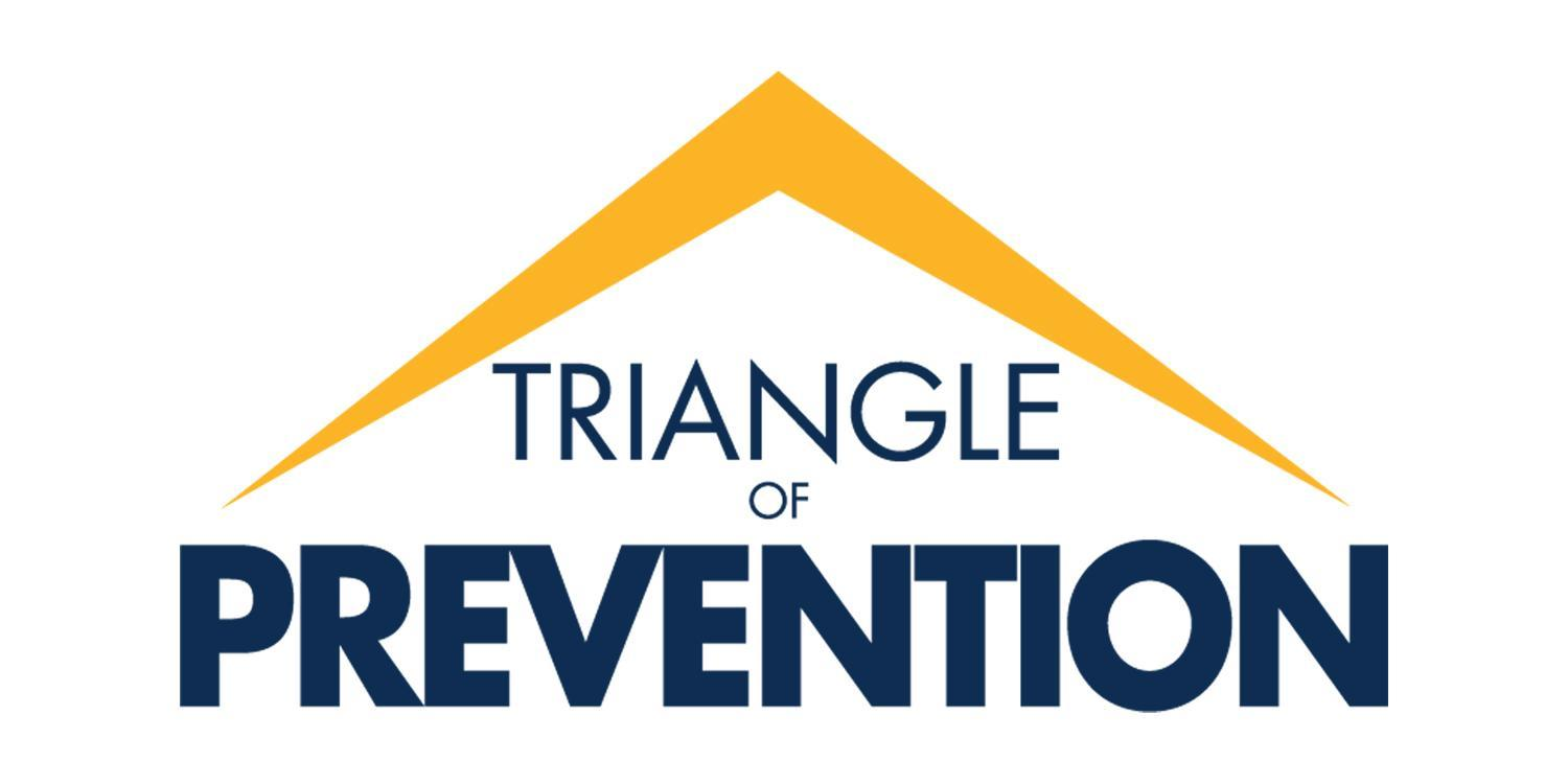 Triangle of Prevention, TOP, logo